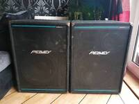 Pair of Peavey Eurosys 4 speakers