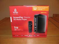 Iomega Screenplay 1tb HD Media Player Director Edition HDMI