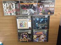 Playstation 1 games and demos