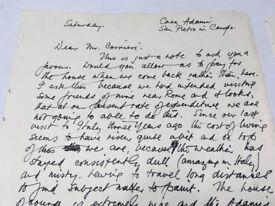letter by Alberto Morrocco