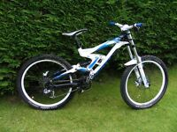 2011 Scott Gambler downhill bike