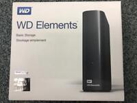 WD Elements Desktop 5 TB External Hard Drive - Can Post