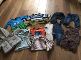 Bundle baby boys clothes Age 3-6mths