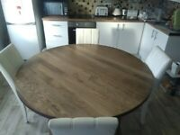 Dining table and chairs (Free local Delivery)
