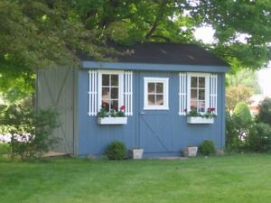Sheds, recycled  poly furniture, gazebos
