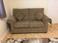 Weatheralls two and a half seater sofa bed, as new