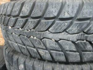 2 SAVERO GT RADIAL WINTER 225/75R16 WINTER TIRES 95% TREAD 225/75/16