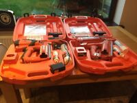 Pair of 1st & 2nd fix nail guns for sale