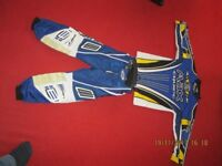 motocross trousers and top age 4 to 6