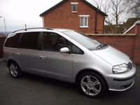 2006 seat alhambra tdi{7 seater,full mot,belt done},2 keys}warranty packages ava}