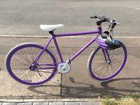 Custom built Fixie Bike