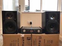Studio Monitor / Power Amp / Speaker Bundle