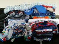 Baby boy huge bundle of clothes 9-12 months