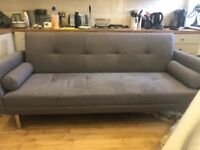 SOLD*** Sofa Bed Grey - Quick Sale!