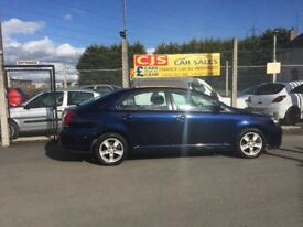 Toyota avensis 2.0 D4D diesel 2007 2 owners 80000 fsh ful year mot mint car fully serviced