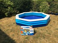 Two Summer Waves octagonal 8ft pools