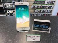 iPhone 8 Plus 256GB Unlocked Silver
