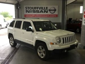 Jeep Patriot north alloy wheels and heated seats 2012