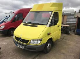 Mercedes sprinter 416cdi recovery dropside luton
