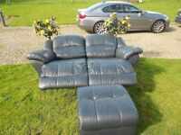 2 Seater Full Electric Recliner Sofa+ Footstool
