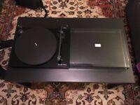 Black Pro-Ject Essential II Digital Turntable