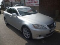 Lexus IS 220D,2231 cc 4 door saloon,keyless ignition,reverse camera,half leather heated memory seats