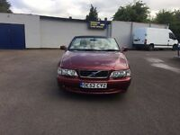 VOLVO C70 T AUTO CONVERTIBLE 2003 RED 2.0