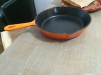 Cast iron pans and frying pans