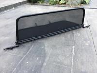 Peugeot 307cc Wind deflector screen.