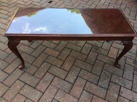 Reproduction Mahogany coffee table