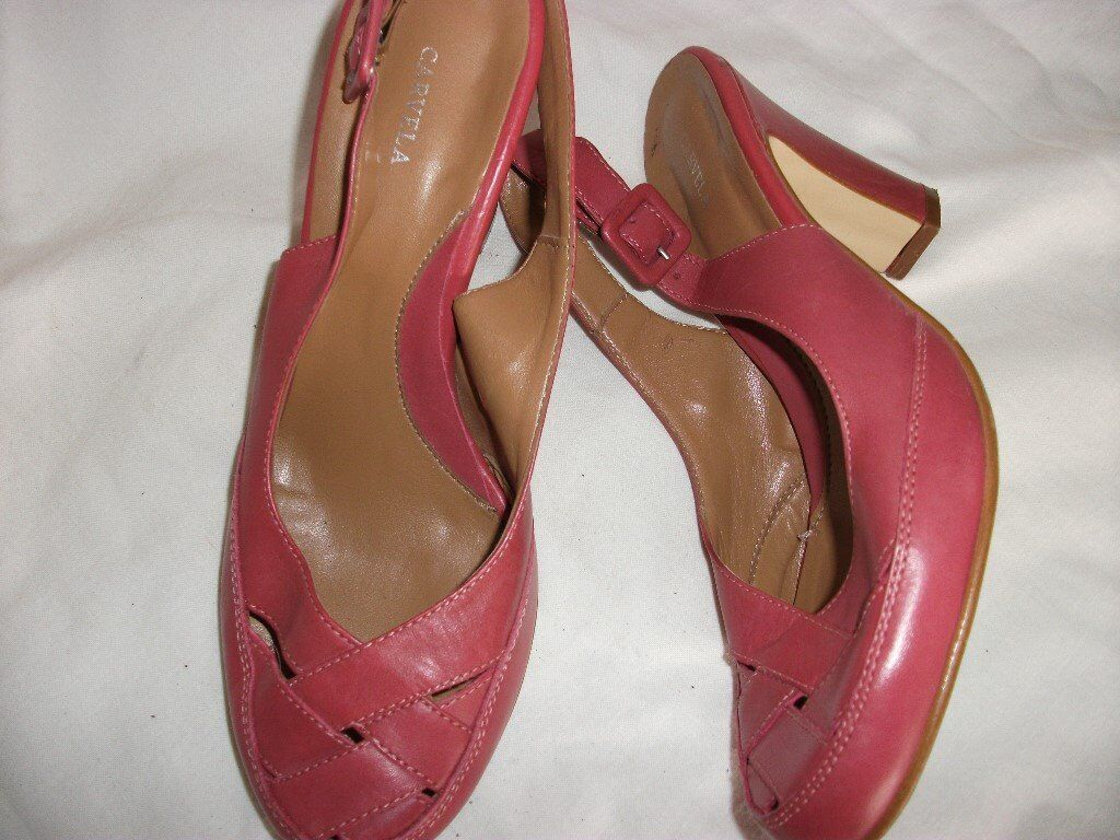 Carvella ladies shoes size 5 New condition