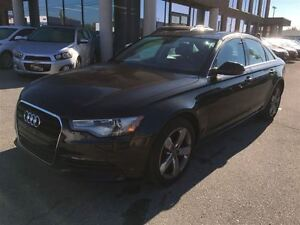 2013 Audi A6 QUATTRO 2.0 T WITH NAVIGATION, SUNROOF