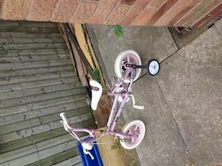 Girls 12inch bike