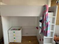 Children's IKEA Stuva loft bed
