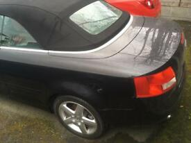 Audi A4 convertible 55 plate £4000