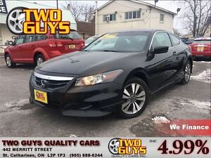 2012 Honda Accord EX COUPE SUNROOF AUTO