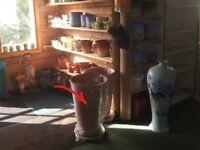 Indoor handmade pots