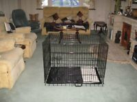 Pet Cage and mat (large)
