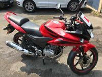 Immaculate CBF125 for sale, VERY LOW MILAGE
