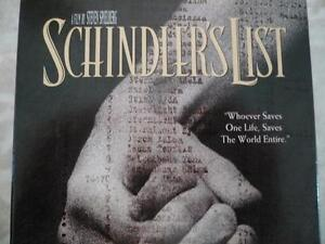 Schindler's List VHS in Warman or Silverspring Area