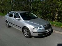 CAR SKODA OCTAVIA METALLIC SILVER WITH A SUPERB SERVICED GERMAN VW ENGINE.