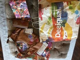 desigual ladies bag and purse brand new with tags ( unwanted gift )