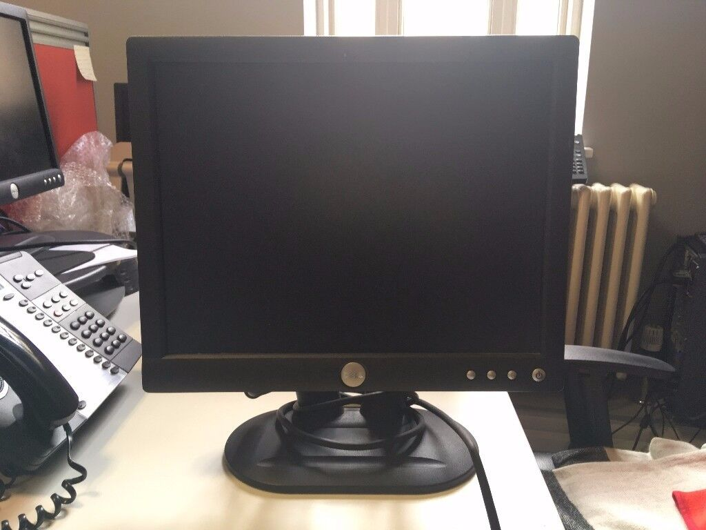 Dell Optiplex PC and monitor