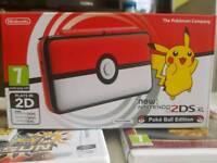Nintendo 2ds xl poke ball edition