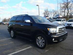 2014 Toyota Sequoia LIMITED / LEATHER / 8-PASSENGER