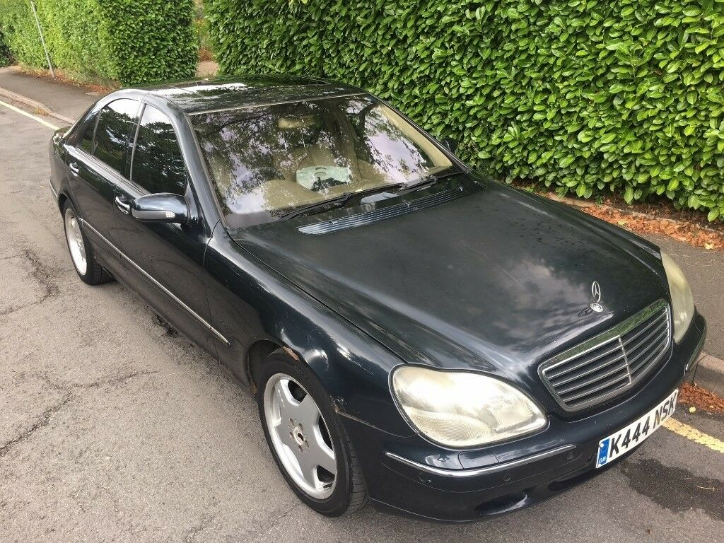 2000 Mercedes S500 AMG / Black / Leather / Xenon Headlights / Fully Loaded  / Spares