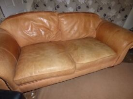 Free to collector. Thomas Lloyd 3 setter Roebuck settee