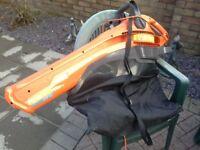 Flymo garden leaf blower. Used twice as new.