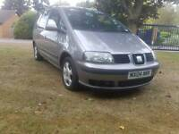 Seat Alhambra 7seater for sale