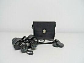 quality vintage Pathescope Zoom 7 x - 14x35 Binoculars ,with optics covers,